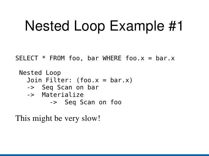 The PostgreSQL Query Planner