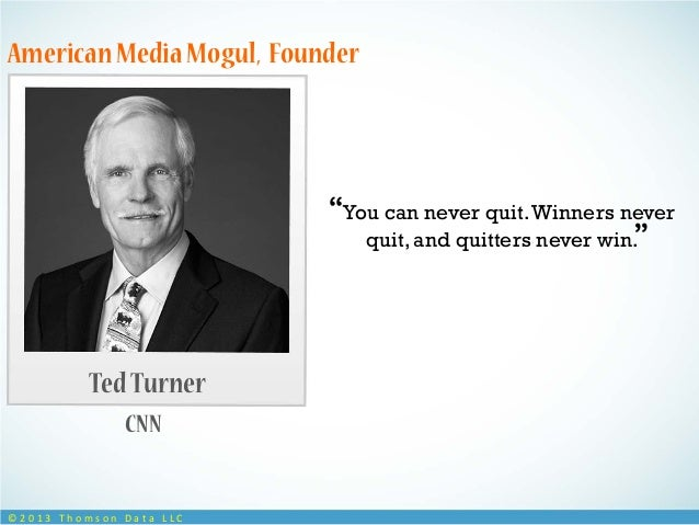 quitters never win and winners never quit essay