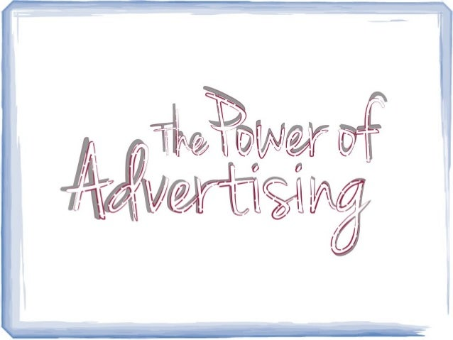 the power of advertising In the past few years, video advertising has started to sky rocket we take a deeper look into the power of video ads, as well and the trends that are making them so popular and the best ways to use them.