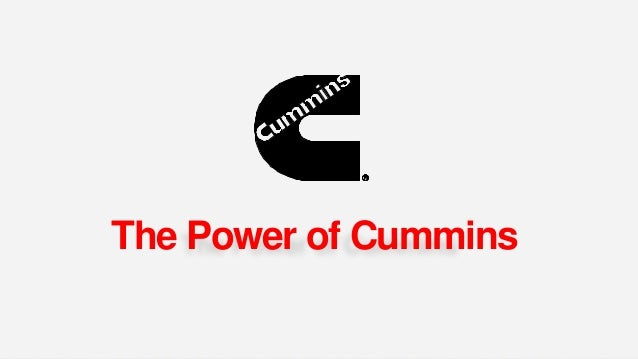 The Power of Cummins 2015