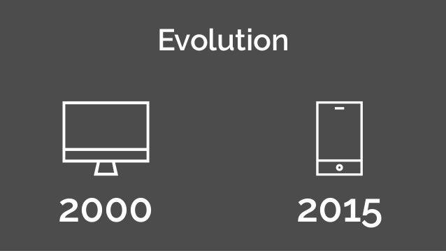 Evolution 2000 2015