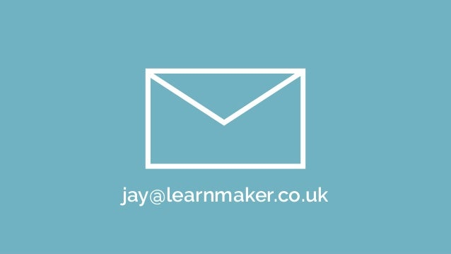 transforming learning with technology Jay Ashcroft LEARNMAKER