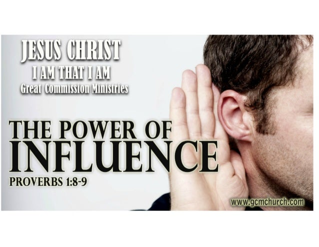 The power of influence Slide 2