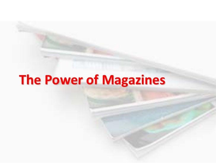 ThePowerofMagazines