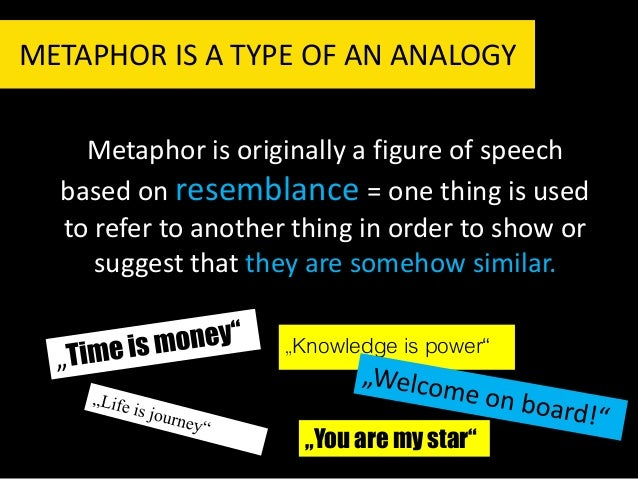 communication and metaphors Using metaphors to think visually  analogies play a significant role in problem solving, decision making, perception, memory, creativity, emotion and communication.