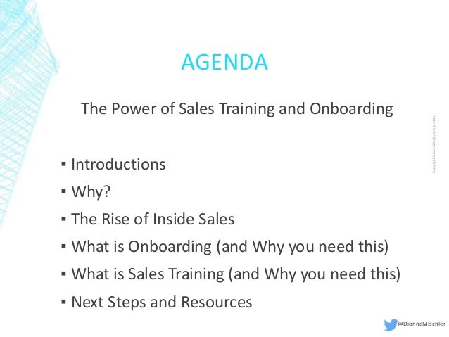 the power of sales training and onboarding