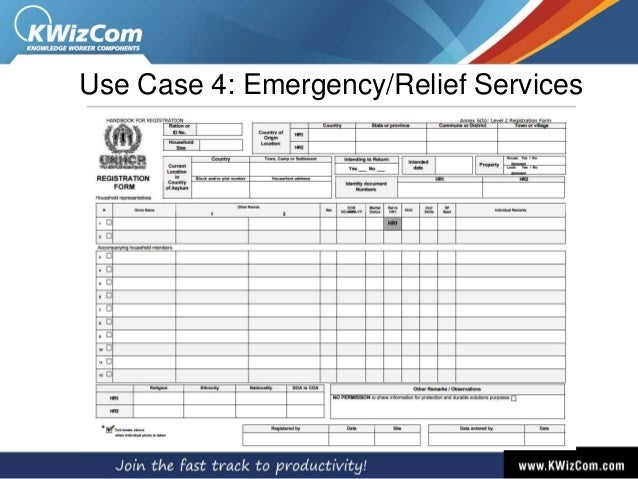Use Case 4: Emergency/Relief Services
