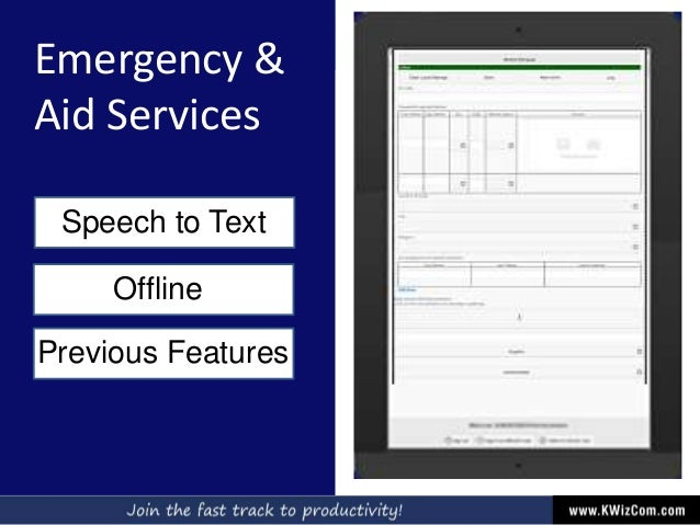 Emergency & Aid Services Speech to Text Offline Previous Features