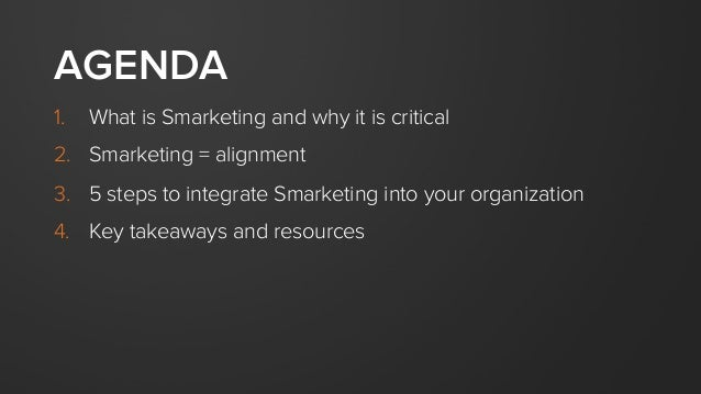 The Power of Smarketing Slide 3