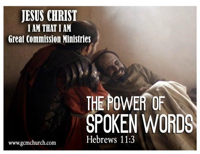 The Power of spoken words Slide 2