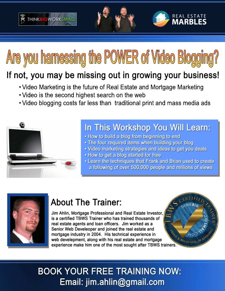 The power of video blogging