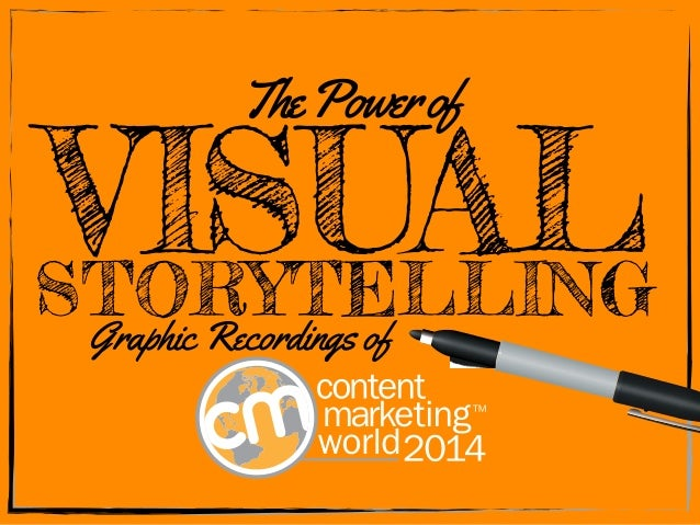 The Power of  VISUAL STORYTELLING  Graphic Recordings of