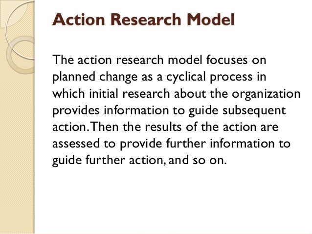 action research model The idea for this publication came from a model school project on in action research as action researchers, teachers are knowledge.