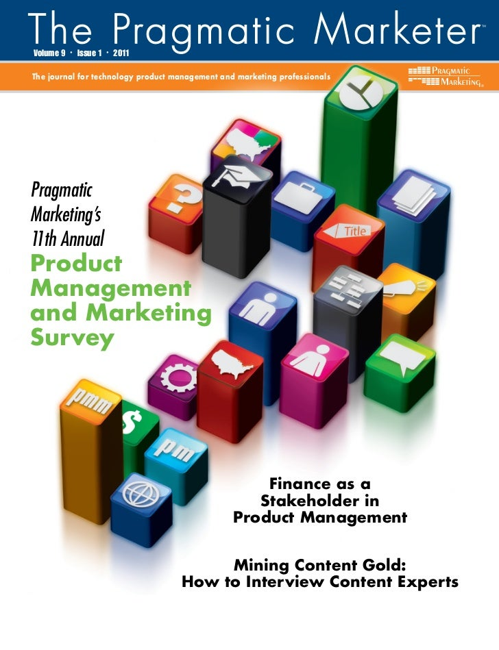 Volume 9   •   Issue 1   •   2011The journal for technology product management and marketing professionals                ...