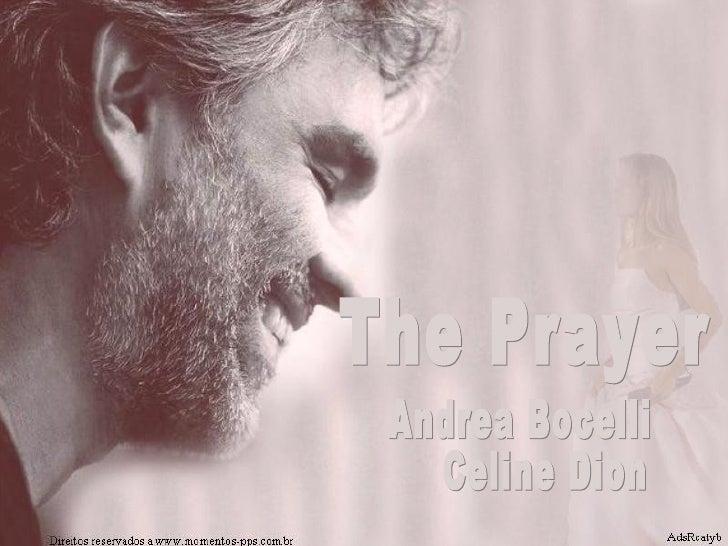 The Prayer  Andrea Bocelli Celine Dion