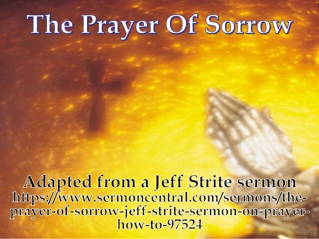 prayer of sorrow, Powerpoint templates