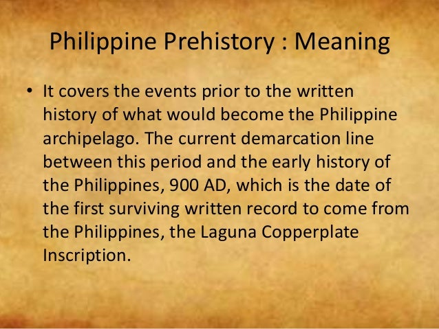 GLANCES: Prehistory of the Philippines