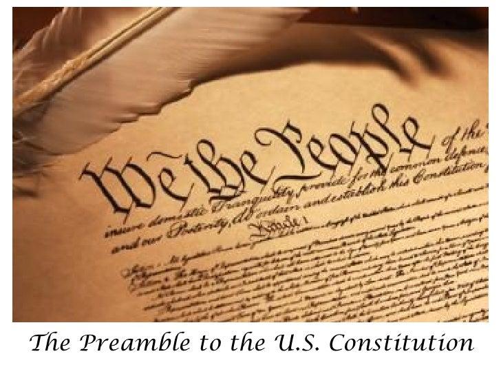 The Preamble