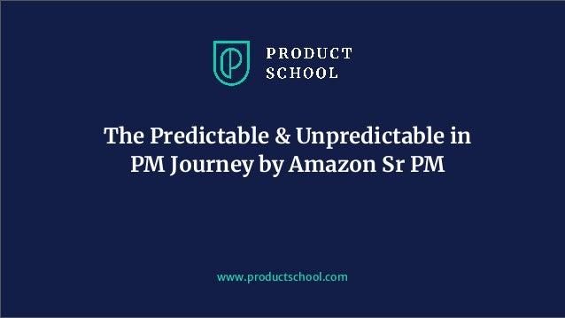 the predictable unpredictable in pm journey by amazon sr pm 1 638