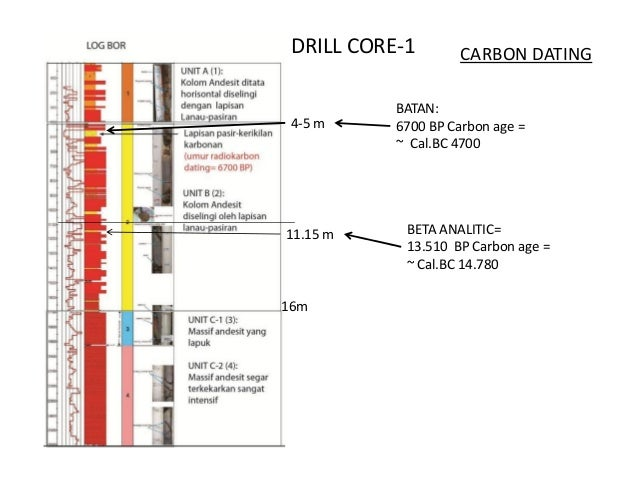 Carbon dating case study