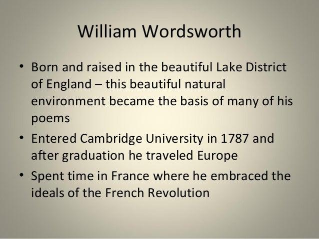 william wordsworth french revolution