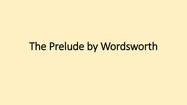 wordsworth prelude book 7