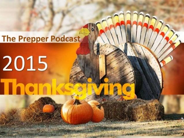 2015 The Prepper Podcast