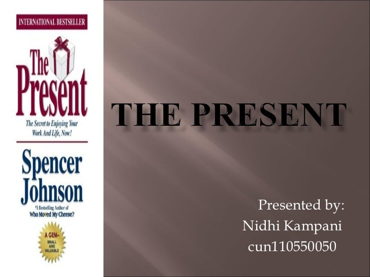 Presented by: Nidhi Kampani cun110550050