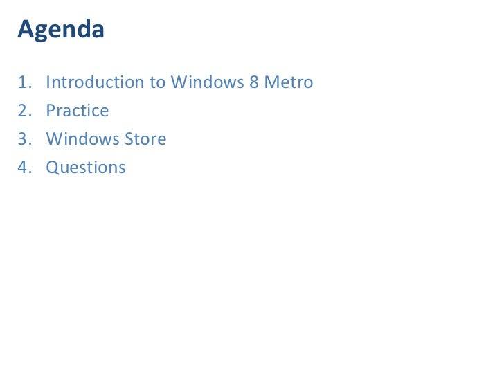 Development Application for Windows 8 by Eugene Kiriyan Slide 3