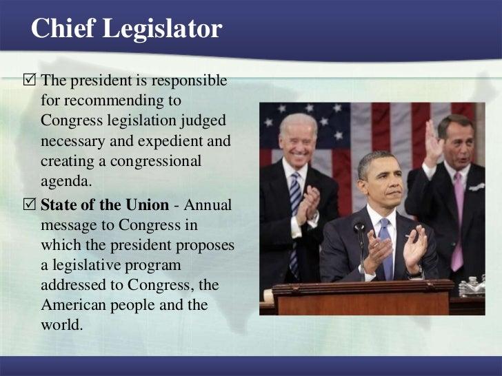 bill clinton chief legislator
