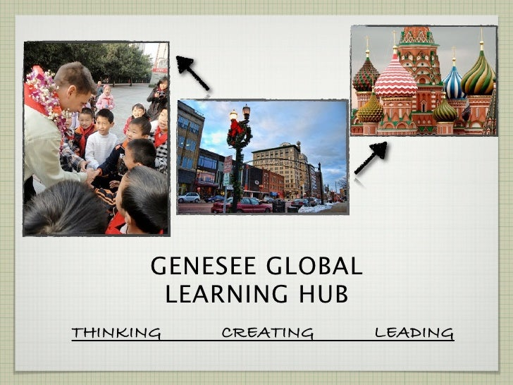 GENESEE GLOBAL       LEARNING HUBTHINKING   CREATING    LEADING