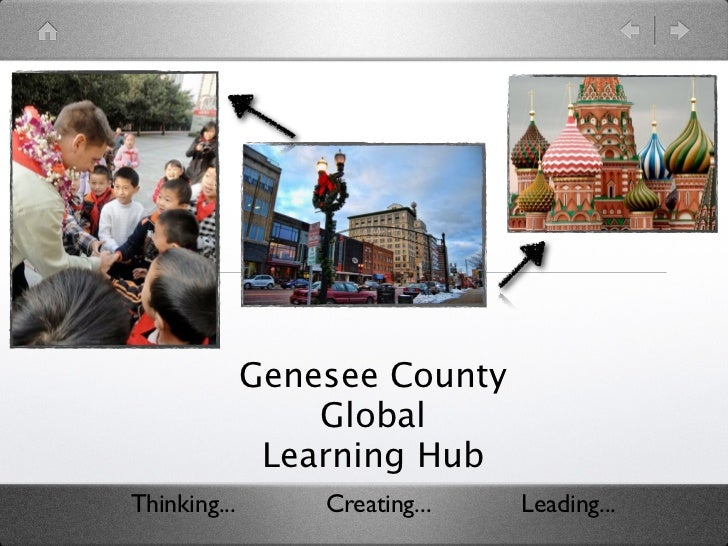 Genesee County                  Global               Learning HubThinking...       Creating...   Leading...