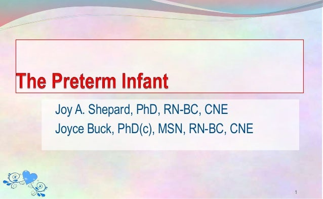 Joy A. Shepard, PhD, RN-BC, CNE Joyce Buck, PhD(c), MSN, RN-BC, CNE 1