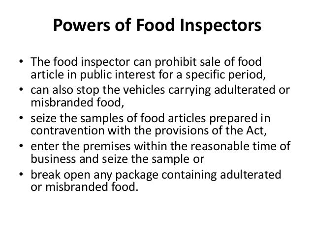 Prevention Of Food Adulteration Act 1954 Epub