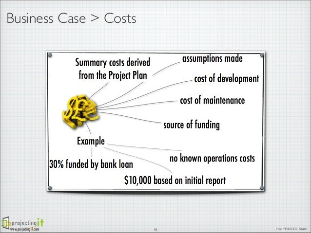 The prince2 business case business case wajeb Gallery
