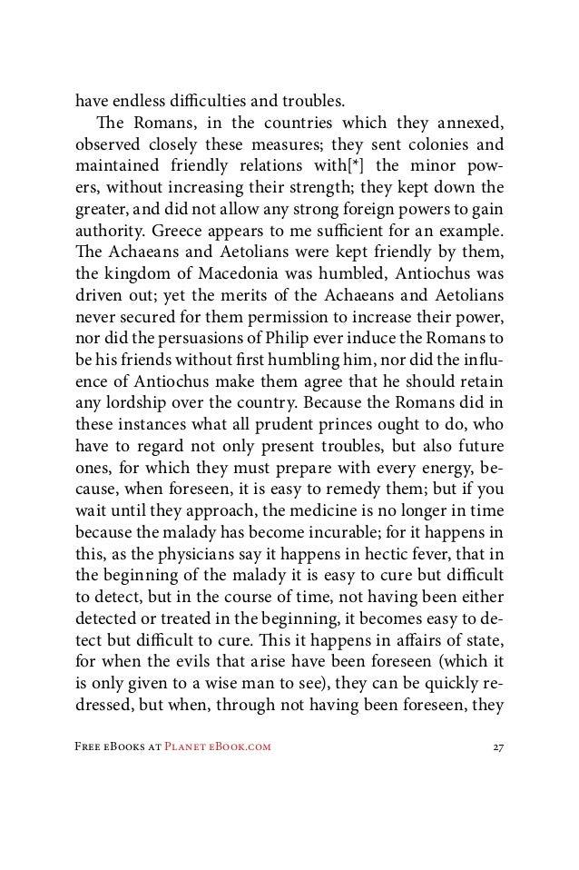 Machiavelli essay prompts