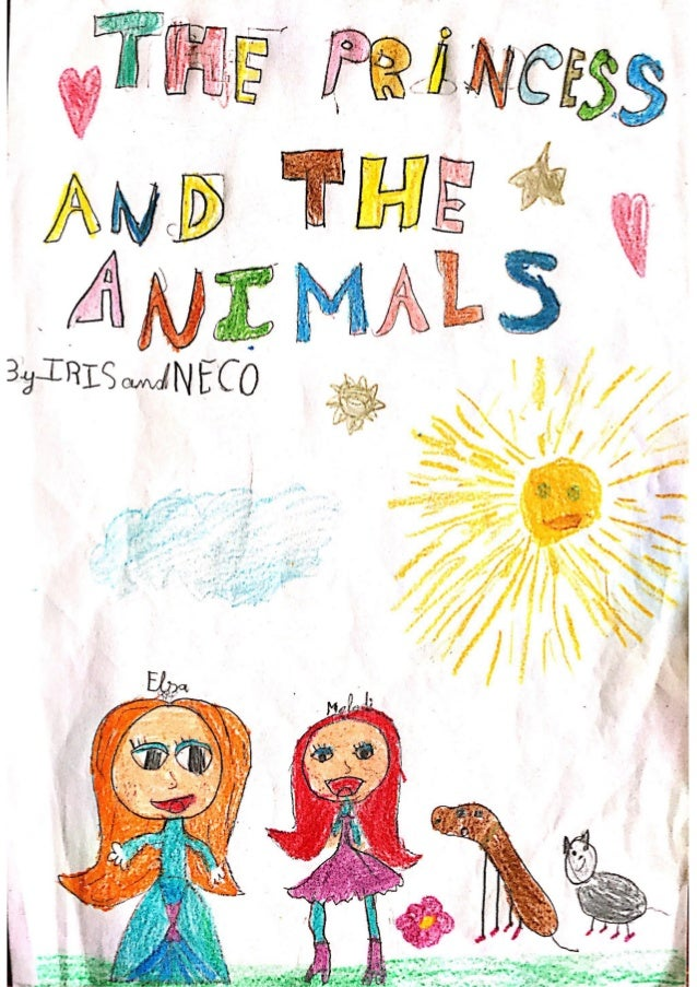 The princess and the animals by Iris and Neco