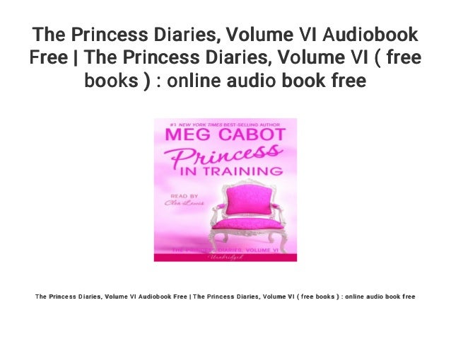 the princess diaries 1 audiobook