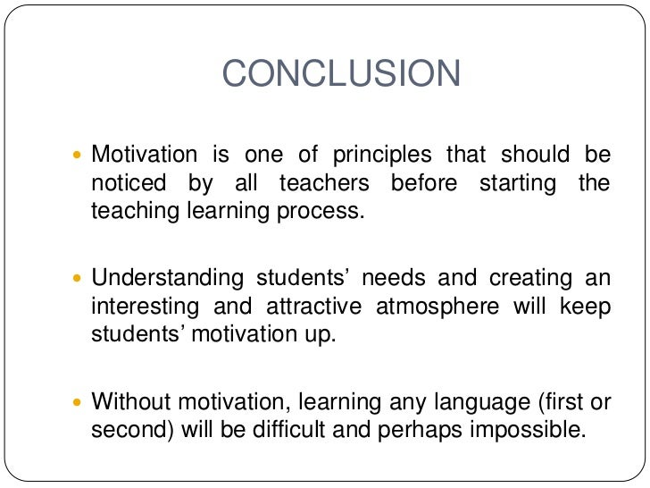 The principles of efl learning