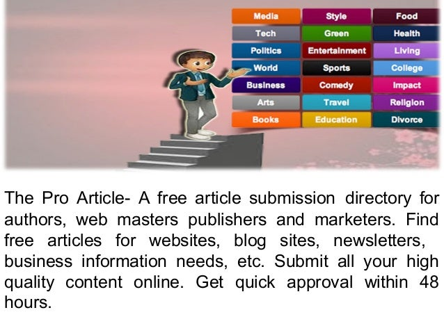 article directory submit