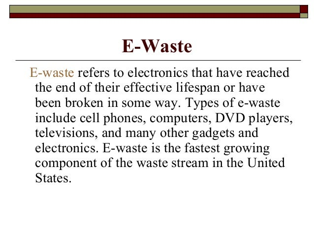 solutions to the e waste problem World leaders recently came together to find ewaste global solutions, to help reduce the environmental and economics problems that it creates.