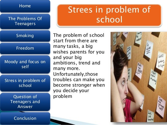 Top 10 Problems and Issues Teenagers Face