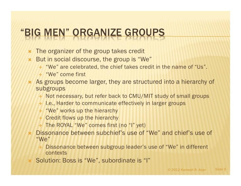 men with big egos
