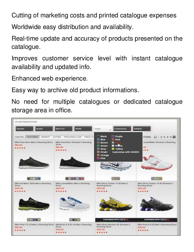 Purpose Of Product Catalog