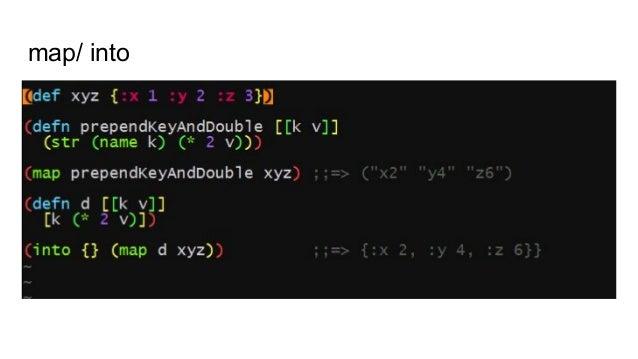 Bibliography 1. stackoverflow survey 2019 2. xkcd.com/297 Lisp Cycles 3. Dmitri Sotnikov --- Clojure distilled 4. Rich Hic...