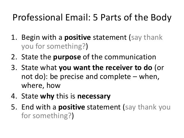 how to write a professional email This is a great final gut-check to make sure your emails sound respectful and professional and ultimately represent how you want to be portraying yourself to the world related: finally the 23.