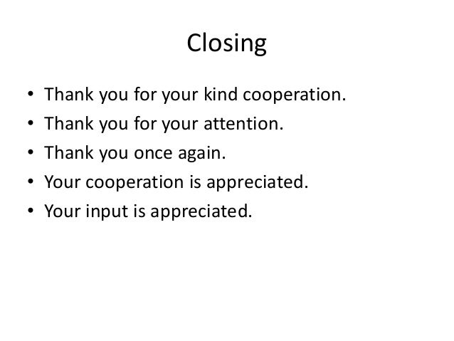 Business Thank You Letter Format