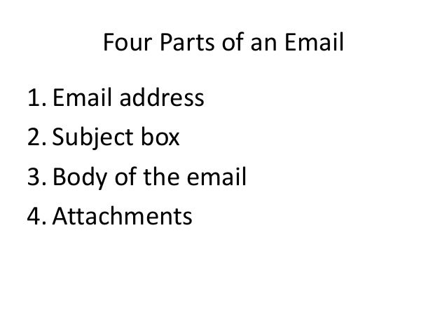 how to write a student email