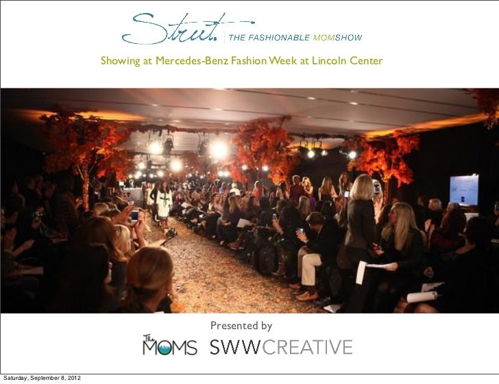 Showing at Mercedes-Benz Fashion Week at Lincoln Center                                                   Presented bySatu...