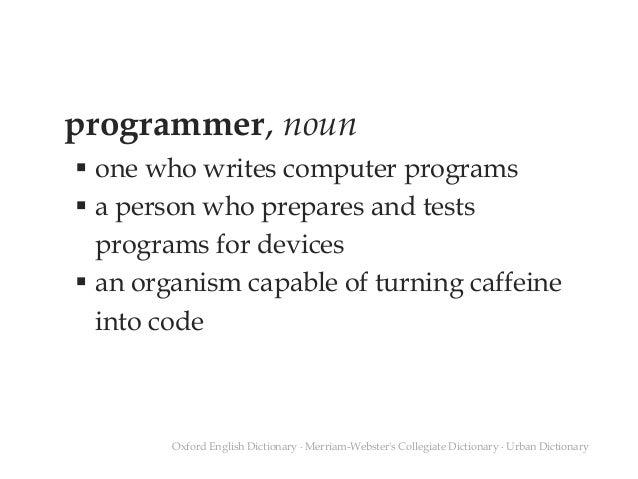 The Programmer Slide 2